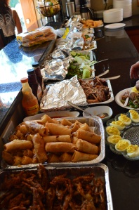 Some of the other food we had